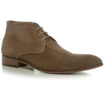 Herren Schuhe Desert Boots Veloursleder taupe beige,beige