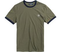T-Shirt Baumwolle khaki
