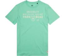 T-Shirt Baumwolle mintgrün