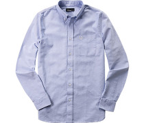 Hemd, Oxford, hellblau