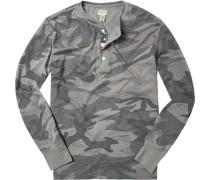 T-Shirt Longsleeve Baumwolle camouflage