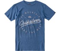 T-Shirt, Modern Fit, Baumwole,
