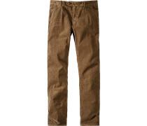 Herren 'Kilbride' Cordjeans soil brown braun