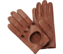 Autofahrer-Handschuhe Haarschaf-Nappa