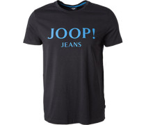 T-Shirt, Baumwolle, nachtblau