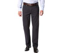 Herren Jeans Contemporary Fit Baumwoll-Stretch nachtblau