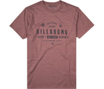 T-Shirt Tailored Fit Baumwolle meliert