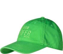 Cap Baumwolle grasgrün