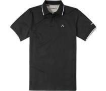 Herren Polo-Shirt Polo DryComfort schwarz blau