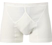 Herren Unterwäsche Slip Baumwolle weiß
