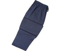 Schlafanzug Pyjamahose, Baumwolle, dunkelblau