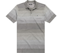 Polo-Shirt Polo Baumwolle gestreift