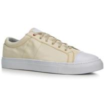 Schuhe Sneaker Kautschuk wollweiß