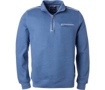 Pullover Toyer, Baumwolle, bleu