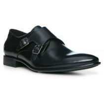 Schuhe Monkstrap, Kalbleder