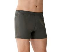 Unterwäsche Boxershorts Baumwolle anthrazit