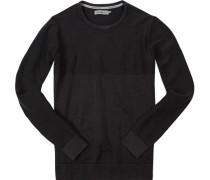 Pullover Baumwolle anthrazit