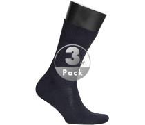 Socken Socken Merinowolle dunkelblau