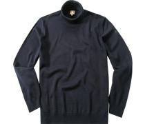 Pullover Merinowolle navy