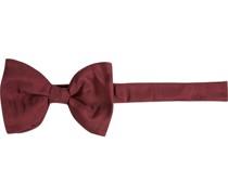Krawatte Schleife Seide bordeaux