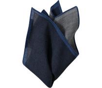 Accessoires Einstecktuch Wolle nachtblau