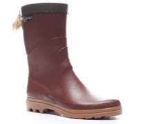 Schuhe Wellington Naturkautschuk rotbraun