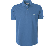 Hemd Classic Fit Baumwolle jeansblau