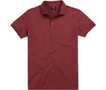 Polo-Shirt Polo Modern Fit Baumwoll-Pique bordeaux