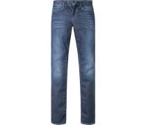 Jeans Baumwoll-Stretch indigo