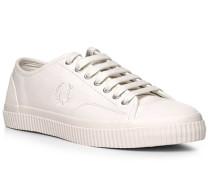 Schuhe Sneaker, Leder, ecru