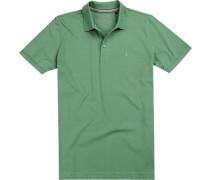 Polo-Shirt Polo, Pima Baumwoll-Piquè, grasgrün