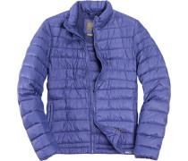 Herren Daunen-Jacke Nylon klimaregulierend kobaltblau