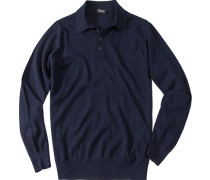 Pullover Kaschmir marineblau