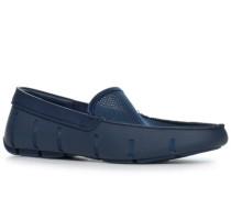 Schuhe Loafer Mesh-Kautschuk navy