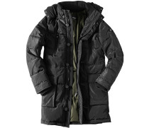 Jacke Parka Microfaser isolierend