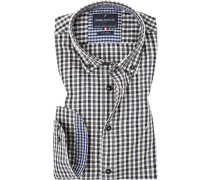 Hemd, Modern Fit, Twill