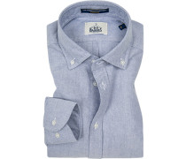 Hemd, Regular Fit, Oxford, bleu