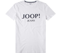 T-Shirt, Modern Fit, Baumwolle,