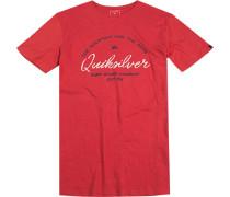 T-Shirt Premium Fit Baumwolle meliert