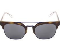 Brillen Sonnenbrille, Kunststoff-Metall, -bernstein