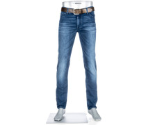 Cosy Bluejeans Slim Fit Baumwoll-Stretch jeansblau