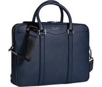 Tasche Business-Case Kalbleder marine