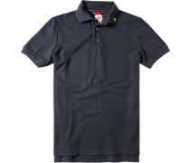 Polo-Shirt Polo Baumwolle schwarz