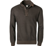 Pullover Troyer, Wolle, meliert