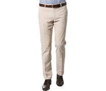 Herren Hose Chino Baumwoll-Stretch beige