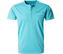 T-Shirt, Baumwolle, eisblau