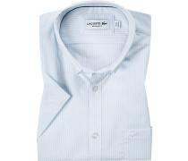 Hemd, Regular Fit, Popeline, bleu gestreift