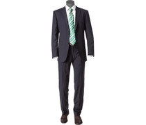 Anzug Shape Fit Schurwolle Super110 Reda marineblau