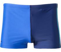 Herren Bademode Trunk Microfaser marine-royal blau