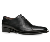 Schuhe Oxford, Kalbleder,